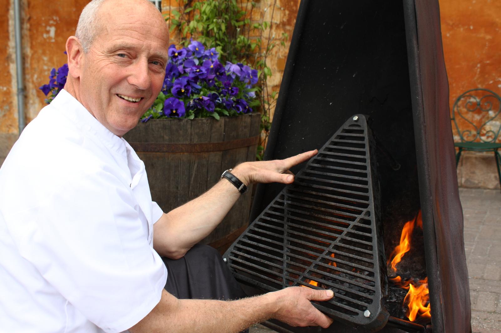 grill hurtigkarl pejs bålsted støbejern